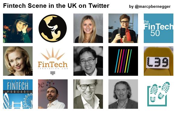 Who to follow in Fintech in the UK